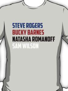 Winter Soldier Buddies T-Shirt