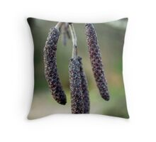 Winter Tails Throw Pillow