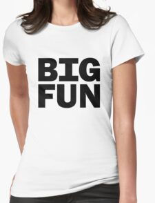 Big Fun - Heathers Womens Fitted T-Shirt