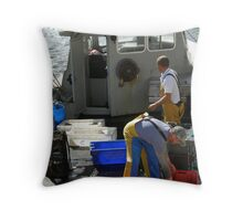Lobster Fishermen Throw Pillow