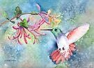 Little Hummingbird by arline wagner