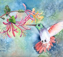 Little Hummingbird by arline wagner