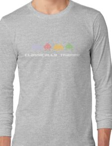 Classically Trained - 80s Video Games Long Sleeve T-Shirt