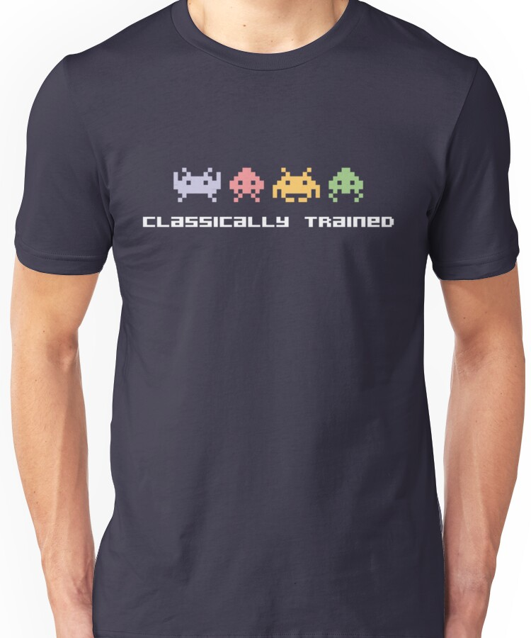 Classically Trained 80s Invaders T-Shirt