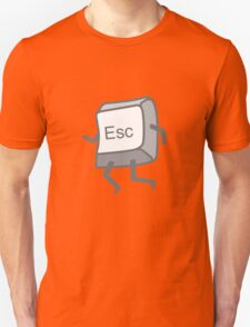 Esc Button - Escaping Unisex T-Shirt