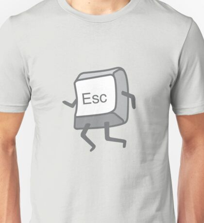 Esc Button - Escaping Unisex T-Shirt