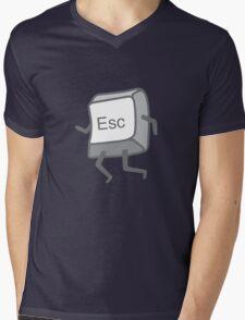 Esc Button - Escaping Mens V-Neck T-Shirt
