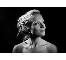 Portrait with one light! Photographic Print