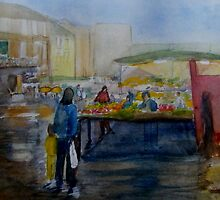 Wet Market Day by Shoshonan
