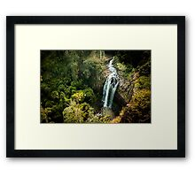Waterfall Queen Mary Framed Print