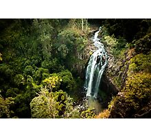 Waterfall Queen Mary Photographic Print