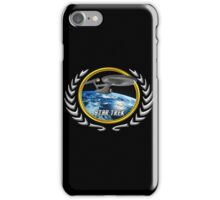 Star trek Federation of Planets Enterprise 1701 old iPhone Case/Skin