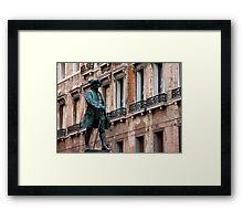 the explorer Framed Print