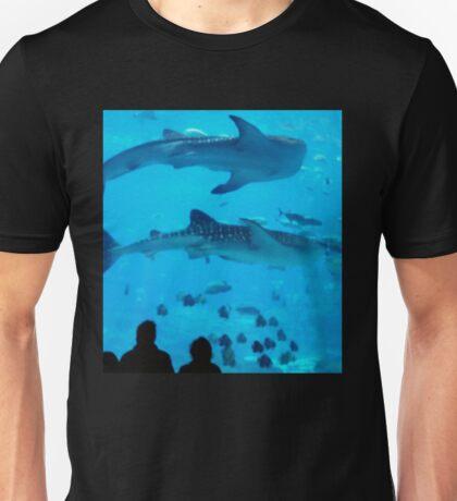 Aqua Whale Shark Underworld Unisex T-Shirt