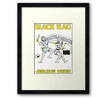 Black Flag - Jealous Again Framed Print