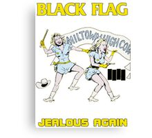 Black Flag - Jealous Again Canvas Print