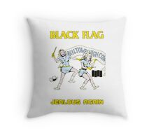 Black Flag - Jealous Again Throw Pillow