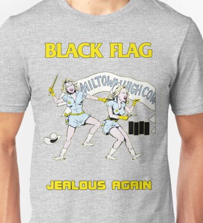 Black Flag - Jealous Again Unisex T-Shirt