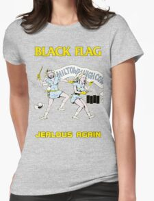 Black Flag - Jealous Again Womens Fitted T-Shirt