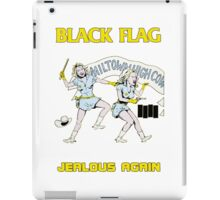 Black Flag - Jealous Again iPad Case/Skin
