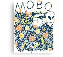 Modern Baseball Dog logo Canvas Print
