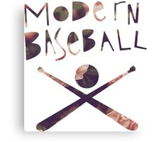 Modern Baseball Bats Canvas Print