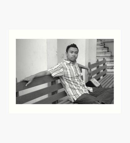 young man Art Print