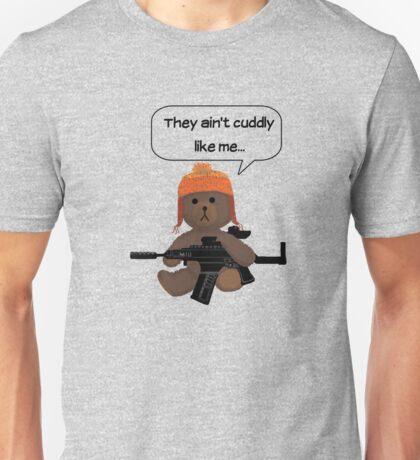 Cuddly Jayne  Unisex T-Shirt