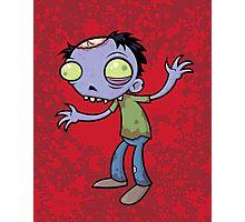 Cartoon Zombie Photographic Print