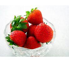 Berries For Breakfast Photographic Print