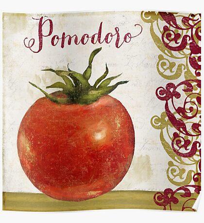 Cucina Italiana Tomate Poster