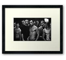 Presidential Fight Club Framed Print