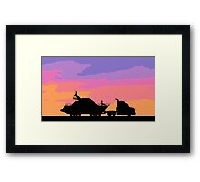 The Escape From LA Framed Print