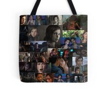 Ellie Collage Tote Bag