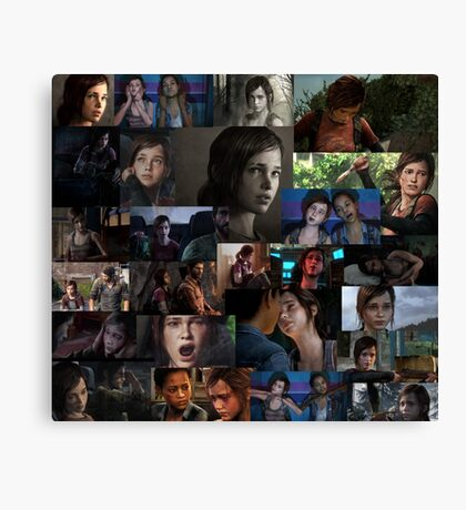 Ellie Collage Canvas Print