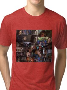 Ellie Collage Tri-blend T-Shirt
