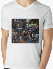 Ellie Collage Mens V-Neck T-Shirt