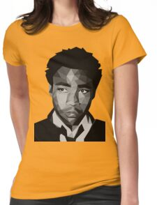 Childish Gambino Vector Womens Fitted T-Shirt