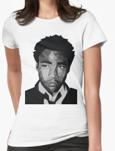 Childish Gambino Vector Womens Fitted T-Shirt