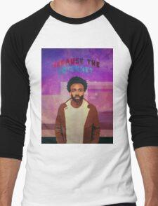 Acid Rap / Because The Internet Men's Baseball ¾ T-Shirt