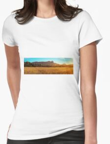Outback Windmill Womens Fitted T-Shirt