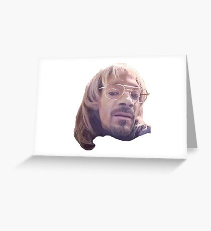 Snoop dogg Todd Greeting Card