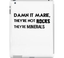 Damn it, Marie. iPad Case/Skin