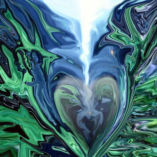 Straight to My Heart - Abstract by haya1812