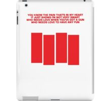 Black Flag - Louie Louie iPad Case/Skin
