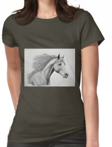 """""""Spirit of the Sands"""" - Arabian horse Womens Fitted T-Shirt"""
