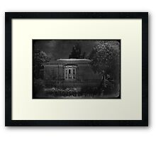 Somebody's Watching Framed Print
