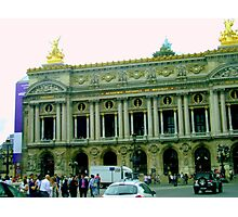 L'Opera Paris Photographic Print