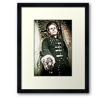 Monsieur Framed Print