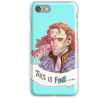 This just. Fine. Really. iPhone Case/Skin